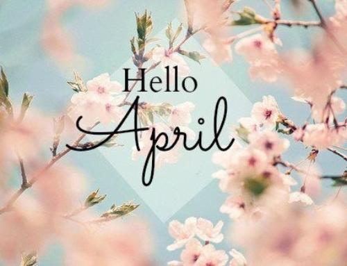 Date e appuntamenti per Aprile!