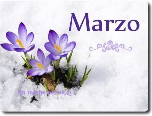 Appuntamenti mese di Marzo!